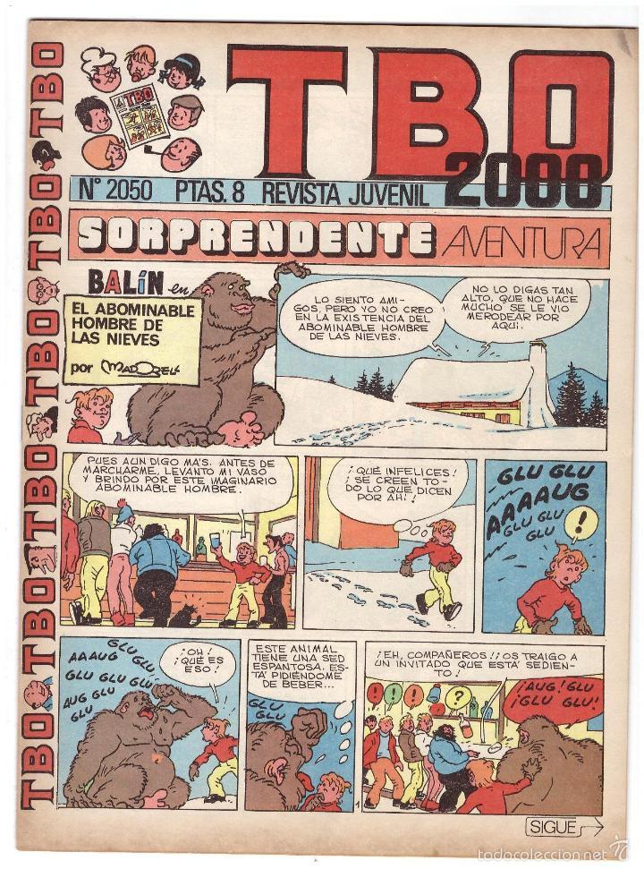 TBO Nº 2050. (Tebeos y Comics - Buigas - Otros)