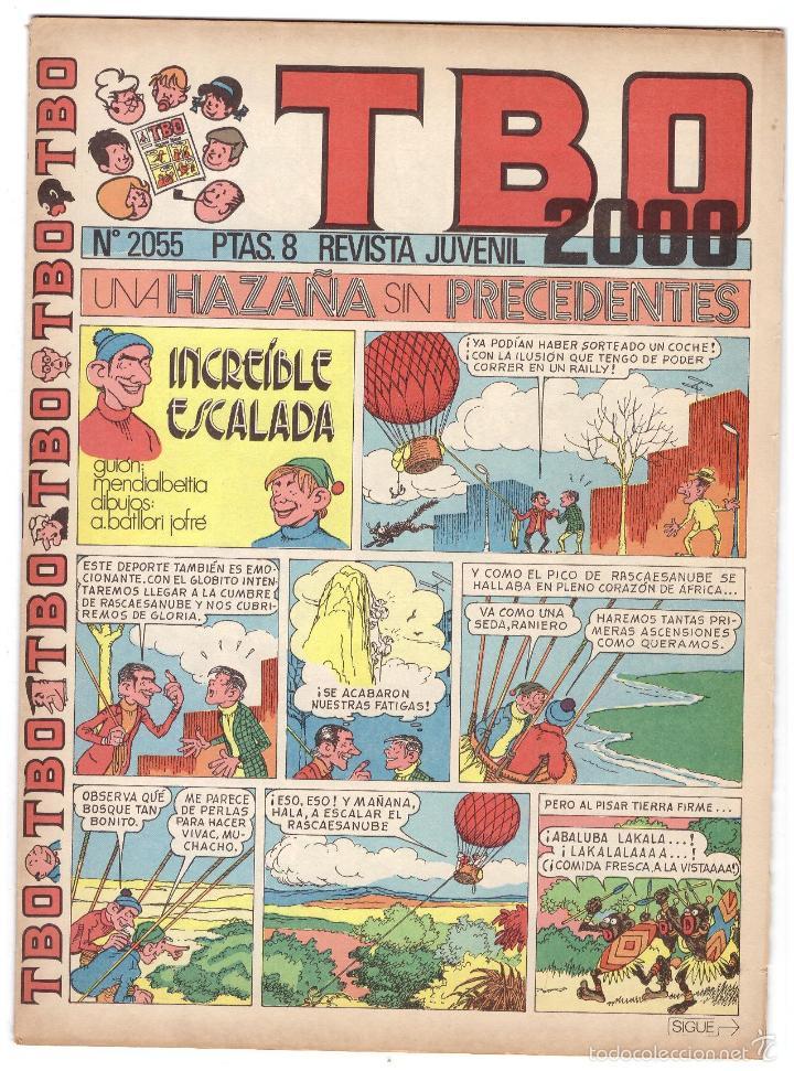TBO Nº 2055. (Tebeos y Comics - Buigas - Otros)