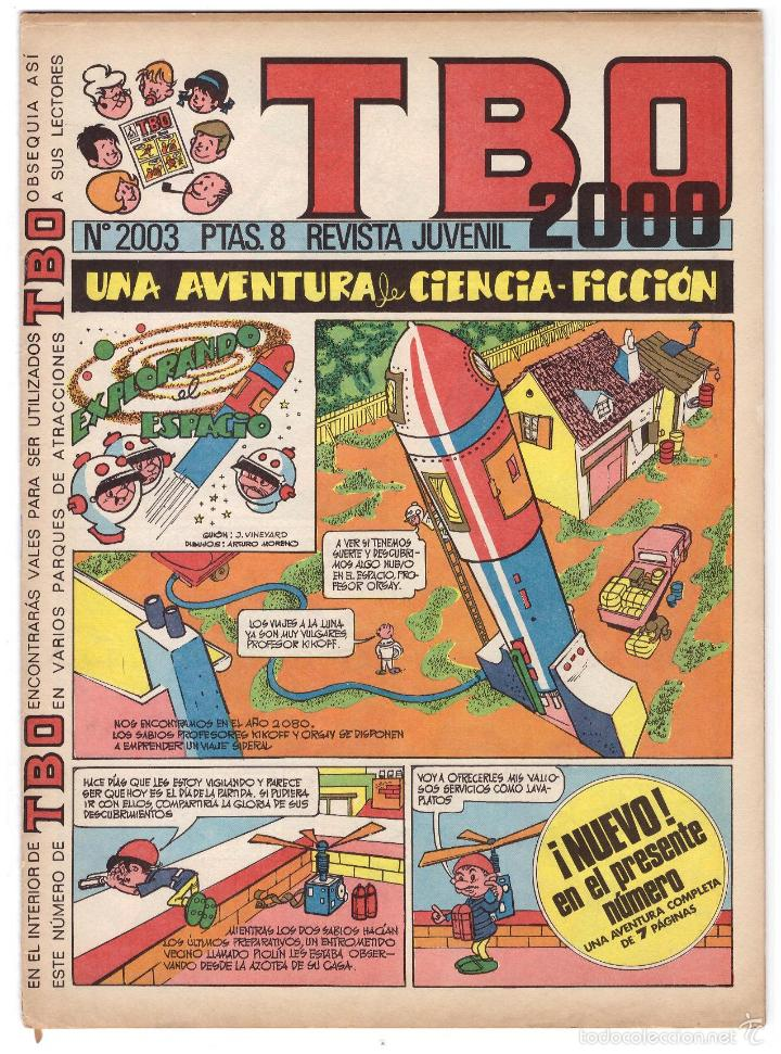 TBO Nº 2003. (Tebeos y Comics - Buigas - Otros)