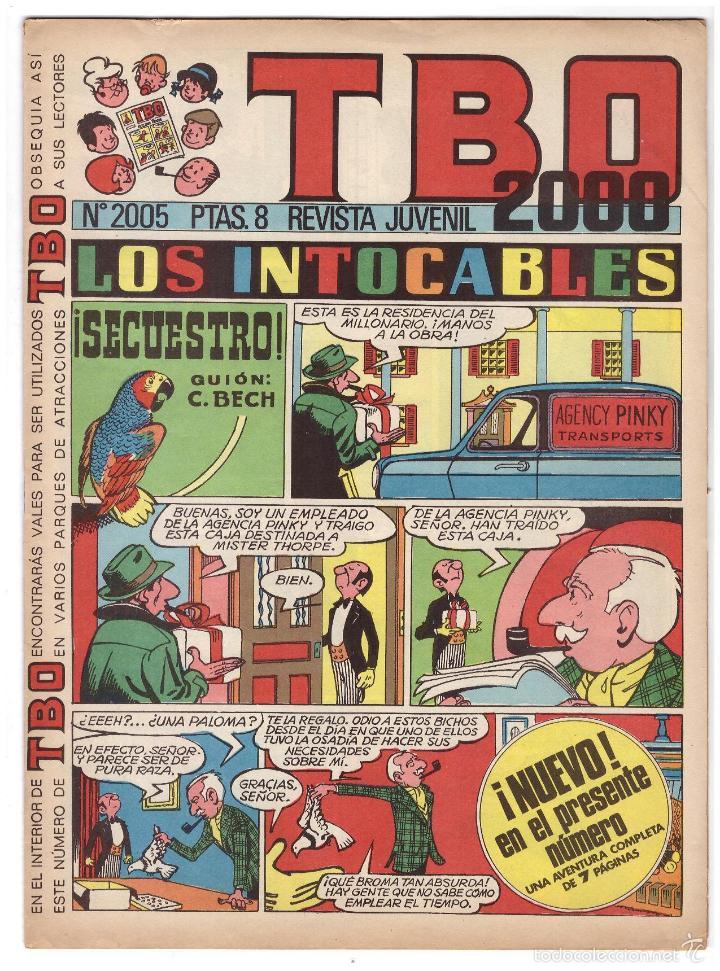 TBO Nº 2005. (Tebeos y Comics - Buigas - Otros)