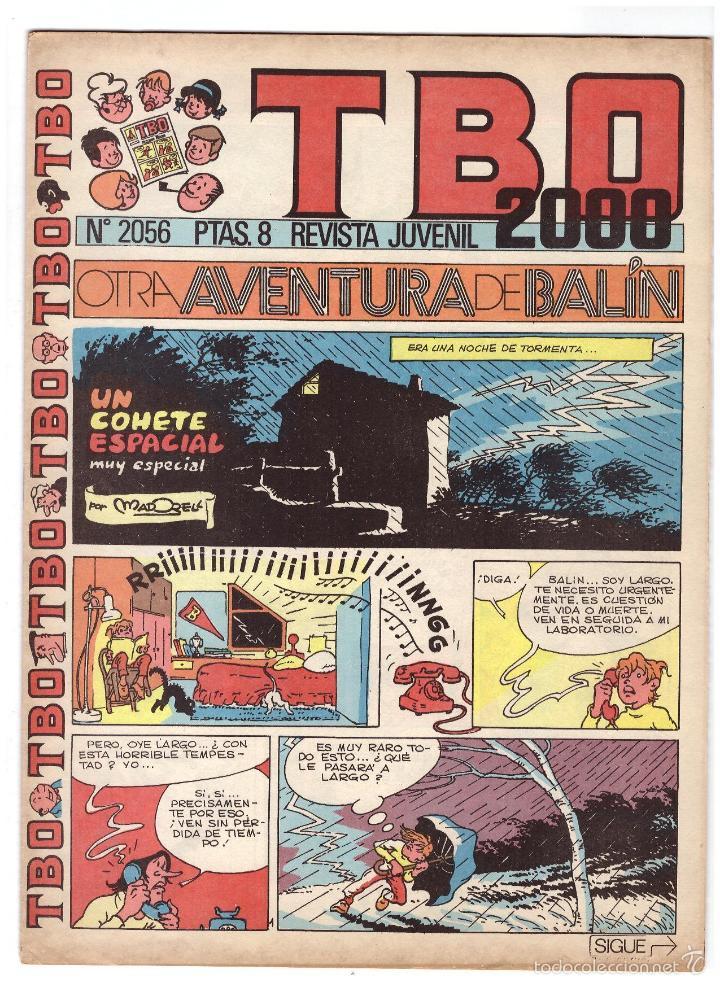 TBO Nº 2056. (Tebeos y Comics - Buigas - Otros)