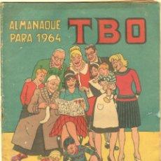 Tebeos: TBO ALMANAQUE PARA 1964 ORIGINAL , CON LA FAMILIA ULISES POR BENEJAN - OPISSO,URDA,AYNÉ,S.MESTRES . Lote 57564932