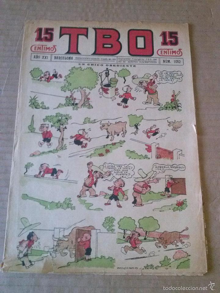 TBO Nº 1052 - 1ª EPOCA , ORIGINAL ,BUIGAS - C (Tebeos y Comics - Buigas - Otros)