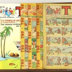 Tebeos: 7723 - TBO. 7 EJEMPLARES(VER DESCRIPCIÓN). VV. AA. VARIAS EDITORIALES. 1928-1988.. Lote 57760802