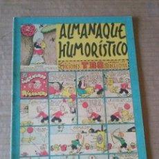 Tebeos: TBO ALMANAQUE HUMORISTICO 1952 -BUIGAS , ORIGINAL , TA. Lote 58333771