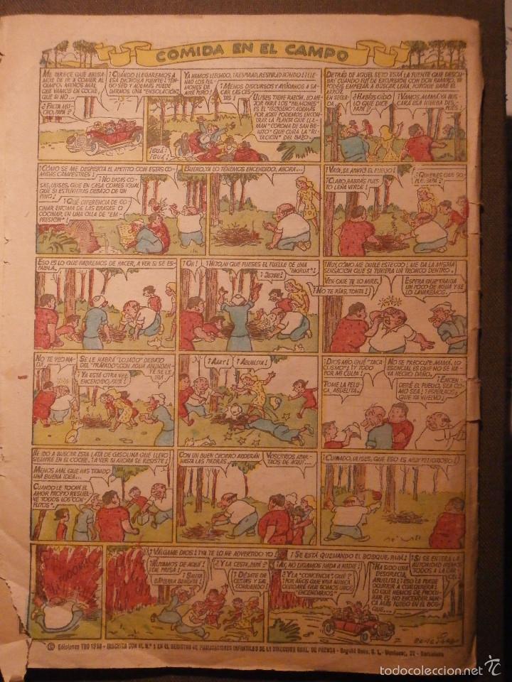Tebeos: TBO - AÑO XLV - Nº 249 - EDITORIAL BUIGAS - REVISTA PARA TODOS - AL PIE DE LA LETRA - 1958 - Foto 2 - 58475086