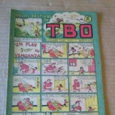 Tebeos: EDICIONES TBO Nº 34- HOJAS FESTIVAS -1942 1953- ORIGINAL ,1PTA - BUIGAS- TA . Lote 58570017