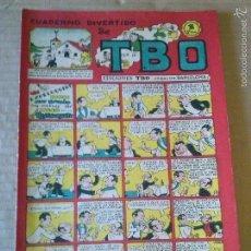 Tebeos: EDICIONES TBO Nº 33- CUADERNO DIVERTIDO -1942 1953- ORIGINAL ,1PTA - BUIGAS- TA . Lote 58570044