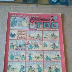 Tebeos: EDICIONES TBO Nº 48- REVISTA ALEGRE -BUIGAS -1942,1953- ORIGINAL - 1 PTA - TA. Lote 58621774