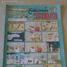 Tebeos: EDICIONES TBO Nº 52 REVISTA COMICA , -1942-1953- BUIGAS 1,20 PTAS, ORIGINAL , TA. Lote 58907965