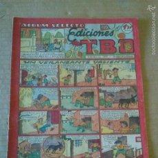 Tebeos: EDICIONES TBO Nº 57 ALBUM SELECTO - , -1942-1953- BUIGAS 1,20 PTAS, ORIGINAL ,TA. Lote 58908865