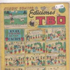 Tebeos: EDICIONES TBO. EN EL PALACIO DE LOS CACTOS . Lote 59038930