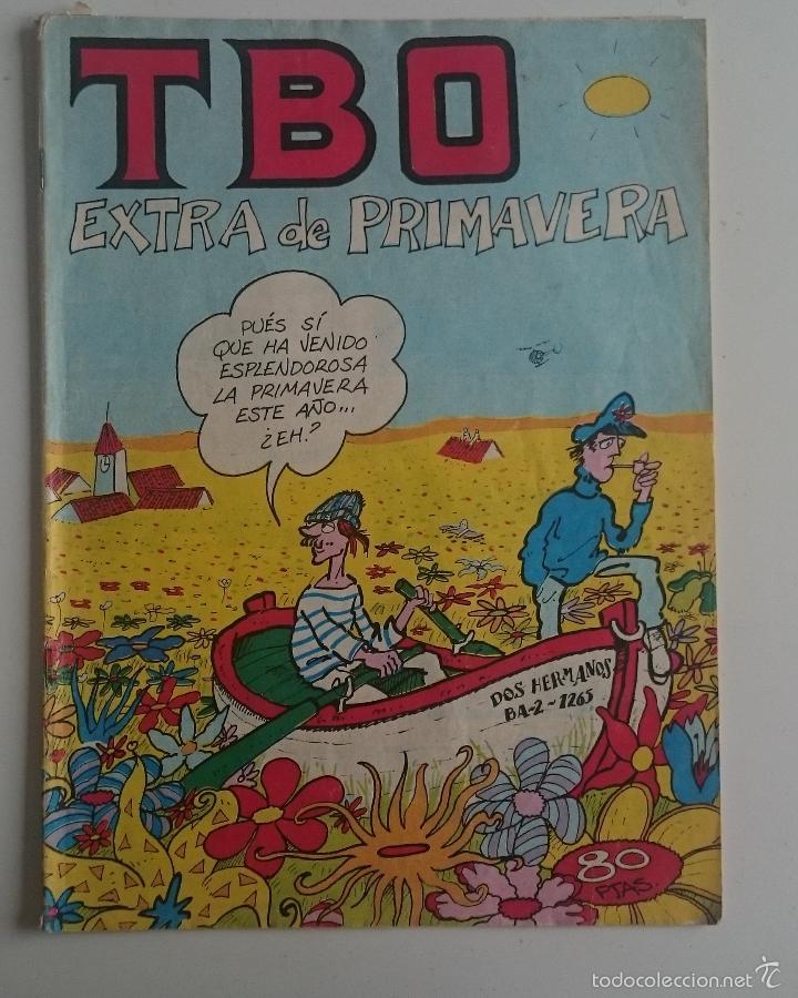TBO EXTRA PRIMAVERA 3-81 (Tebeos y Comics - Buigas - TBO)