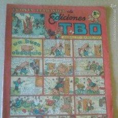 Tebeos: EDICIONES TBO. REVISTA HUMORISTICA Nº 60 - 1942-1953-BUIGAS 1,20 PTAS- ORIGINAL -. Lote 60775687