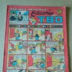 Tebeos: EDICIONES TBO ,PAGINAS FESTIVAS Nº 66- BUIGAS , ORIGINAL -1,20 PTAS ,. Lote 61405375
