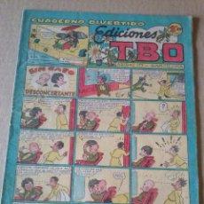 Tebeos: EDICIONES TBO , CUADERNO DIVERTIDO Nº 67- BUIGAS , ORIGINAL -1,20 PTAS ,. Lote 61405427