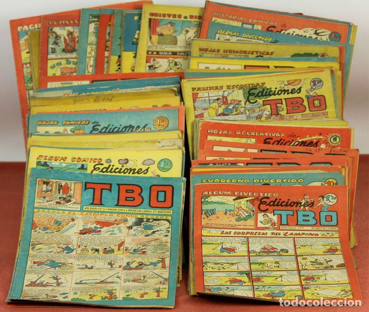 7989 - EDICIONES TBO. APAISADO EN GRAPA. 96 EJEM(VER DESCRIPCIÓN). EDIC. BAGUÑA. 1928/1981. (Tebeos y Comics - Buigas - TBO)