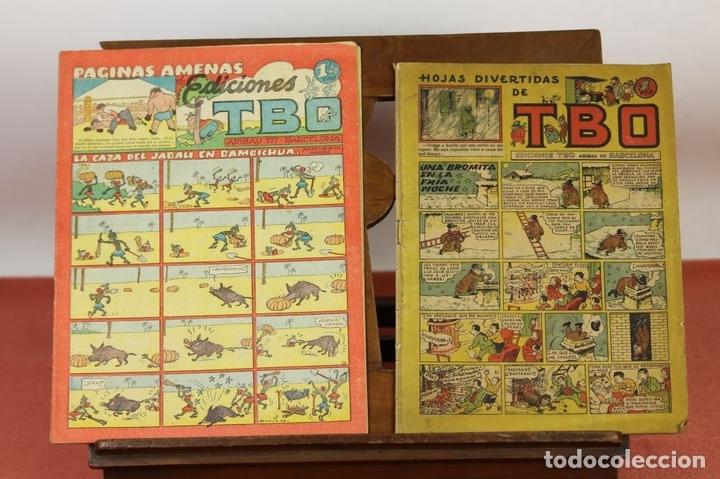 Tebeos: 7989 - EDICIONES TBO. APAISADO EN GRAPA. 96 EJEM(VER DESCRIPCIÓN). EDIC. BAGUÑA. 1928/1981. - Foto 3 - 61551936