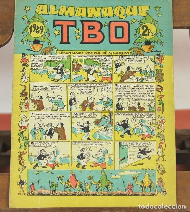 Tebeos: 7989 - EDICIONES TBO. APAISADO EN GRAPA. 96 EJEM(VER DESCRIPCIÓN). EDIC. BAGUÑA. 1928/1981. - Foto 8 - 61551936