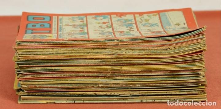 Tebeos: 7989 - EDICIONES TBO. APAISADO EN GRAPA. 96 EJEM(VER DESCRIPCIÓN). EDIC. BAGUÑA. 1928/1981. - Foto 11 - 61551936