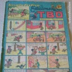 Tebeos: EDICIONES TBO , Nº 76 , REVISTA FESTIVA -, BUIGAS, - ORIGINAL DE 1,20 PTS. . Lote 62907484