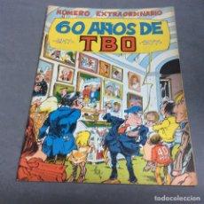 Giornalini: NUMERO EXTRAORDINARIO 60 AÑOS DE TBO, 1917 - 1977. Lote 66754878