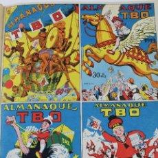 Tebeos: L-4158. REVISTA TBO ENCUADERNADA, AÑO 1968. 2 ALMANAQUES 1968, Y 25 REVISTAS.. Lote 70864561