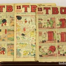 Tebeos: 8074 - TBO. 3 EJEMPLARES(VER DESCRIPCIÓN). VV. AA. EDIT. BUIGAS. 1928-1936.. Lote 63083744
