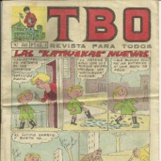 Tebeos: COMIC TBO, AÑO XLVIII, Nº 365 - 23 OCTUBRE 1964. Lote 74002035