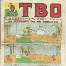 Tebeos: COMIC TBO, AÑO XLVIII, Nº 366 - 30 OCTUBRE 1964. Lote 74004515