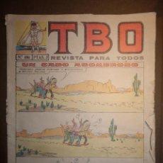 Tebeos: TBO - REVISTA PARA TODOS - Nº 406 - 2 PESETAS - UN CASO ASOMBROSO - 6 DE AGOSTO 1965 -. Lote 74654571