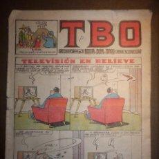 Tebeos: TBO - REVISTA PARA TODOS - AÑO XLVII - Nº 304 - 3 PESETAS - TELEVISIÓN EN RELIEVE - AÑO 1958 -. Lote 74655327