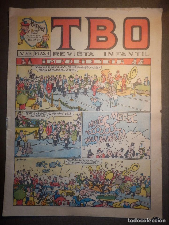 TBO - REVISTA PARA TODOS - Nº 503 - 4 PESETAS - IIMPACIENCIA - AÑO 1967 - (Tebeos y Comics - Buigas - TBO)