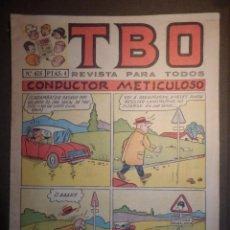 Tebeos: TBO - REVISTA PARA TODOS - Nº 475 - 4 PESETAS - CONDUCTOR METICULOSO - AÑO 196? -. Lote 74655699