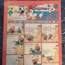 Tebeos: EDICIONES TBO, HISTORIAS CÓMICAS, 1,20 PTS, UN BUEN OBSEQUIO. Lote 76188447