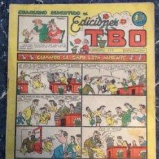 Tebeos: EDICIONES TBO, CUADERNO DIVERTIDO, 1,20 PTS CUANDO EL GATO ESTA AUSENTE. Lote 76188647