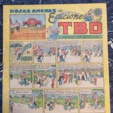 Tebeos: EDICIONES TBO, HOJAS AMENAS, LLUVIA DE ENERO. Lote 76603243