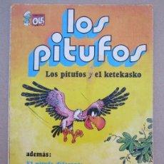 Tebeos: COLECCION OLE , LOS PITUFOS , N.6 LOS PITUFOS Y EL KE TE KASKO , PREIMERA EDICION1979. Lote 78024369