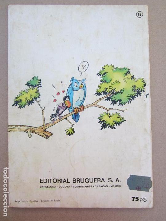 Tebeos: COLECCION OLE , los pitufos , n.6 los pitufos y el ke te kasko , preimera edicion1979 - Foto 2 - 78024369