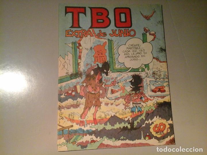 TBO. EXTRA DE JUNIO. EDICIONES TBO. 10 - 79. (Tebeos y Comics - Buigas - TBO)