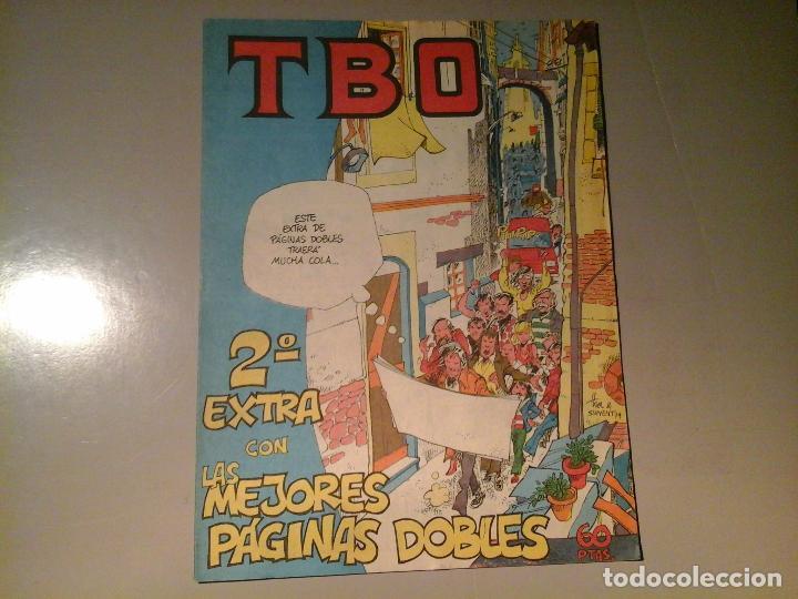 TBO. 2º EXTRA CON LAS MEJORES PÁGINAS DOBLES. EDICIONES TBO. 3 - 79. (Tebeos y Comics - Buigas - TBO)