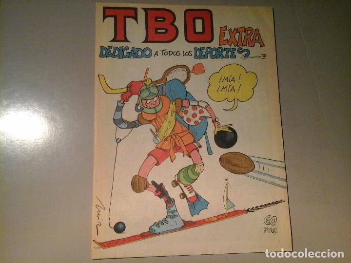 TBO. EXTRA DEDICADO A TODOS LOS DEPORTES . EDICIONES TBO. 4 - 79. (Tebeos y Comics - Buigas - TBO)