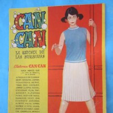Tebeos: CAN CAN N.83 , DETRAS, FRANCE NUYEN. Lote 84618244