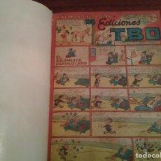 Tebeos: TBO - MAGNIFICO LOTE TBO NUEVO ENCUADERNADOS EN UN TOMO CON 48 EJEMPLARES DE LOS AÑOS 1950. Lote 84854112