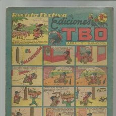 Tebeos: REVISTA FESTIVA DE EDICIONES TBO: EL SALCHICHÓN, 1949, SIN NUMERAR, 1,20 PTAS. Lote 86970580