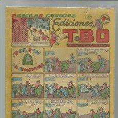 Tebeos: PÁGINAS COMICAS DE EDICIONES TBO: POR FIN LA ENCONTRO, 1950, BUEN ESTADO, 1,20 PTAS. Lote 86970836