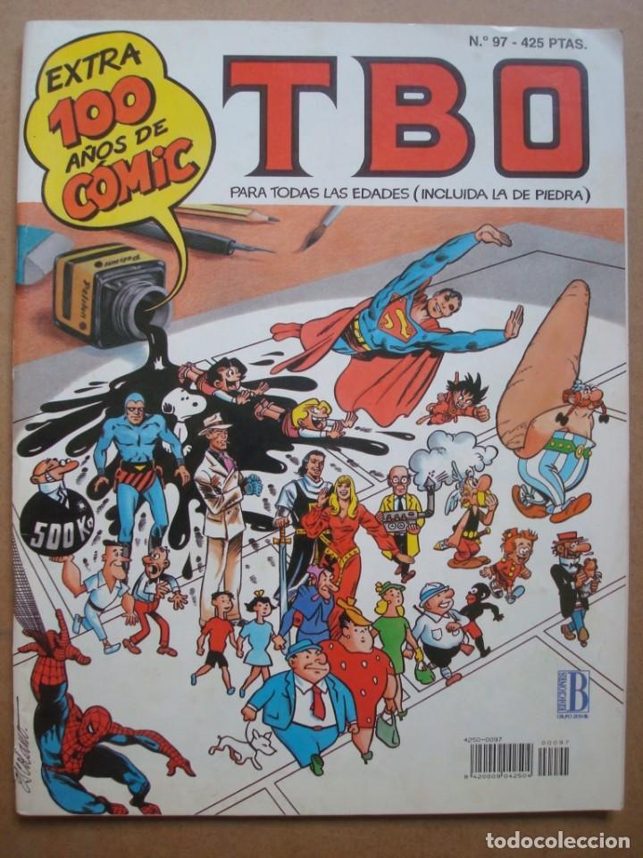 TBO Nº 97 EXTRA 100 AÑOS DE COMICS (INCLUYE RECORTABLE) (EDICIONES B) (Tebeos y Comics - Buigas - TBO)