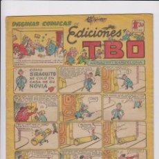 Tebeos: TBO. BUIGAS 1942. SERIE SIN NUMERAR (129) COMO SIRAGUITO SE COLÓ EN CASA DE SU NOVIA.. Lote 89205624