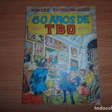 BDs: TBO NUMERO EXTRAORDINARIO 60 AÑOS DE TBO, 1917 - 1977 . Lote 89210260