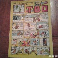 Tebeos: TBO - HOJAS DIVERTIDAS - SIN NUMERAR - Nº 25 - AÑO 1946 - UNA BROMITA EN LA FRIA NOCHE. Lote 90564135